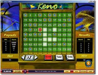 Club keno how to play